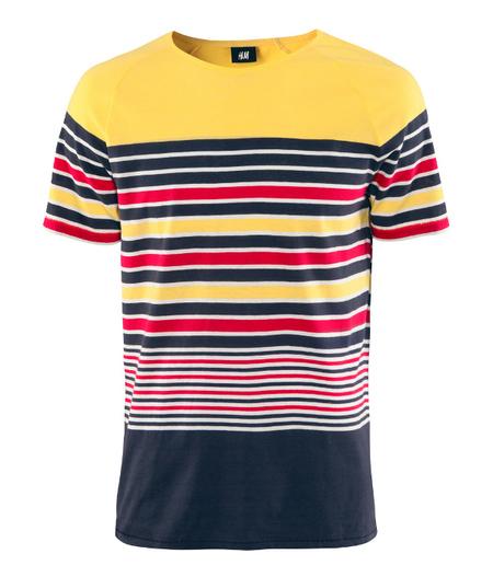 Camiseta H&M rayas