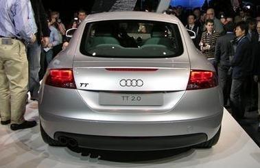 Audi TT en Nueva York