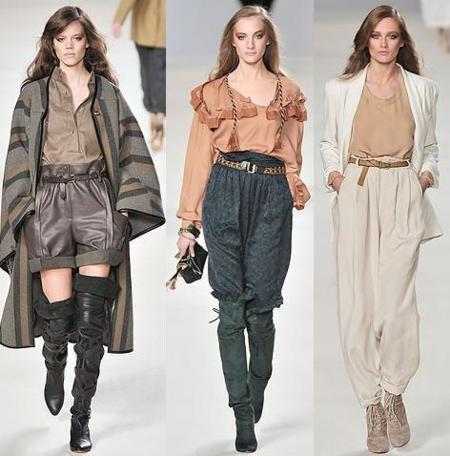 Chloé Otoño-Invierno 2009/2010 en la Semana de la Moda de París