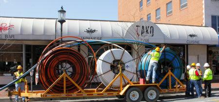 Las cableras locales critican la apertura de la fibra de Movistar