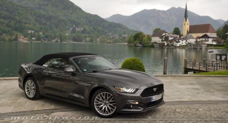 Ford Mustang 2015, a prueba en carreteras europeas