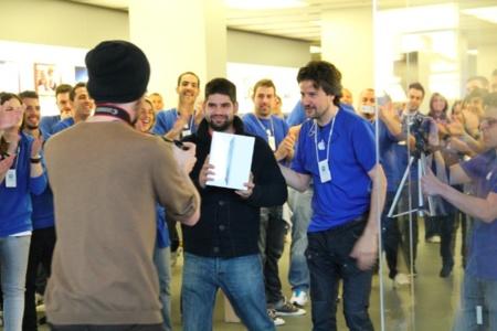 Así hemos vivido el lanzamiento del nuevo iPad en Barcelona [Actualizado: imágenes del lanzamiento]