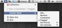 SoCal un complemento para iCal en la barra de menús