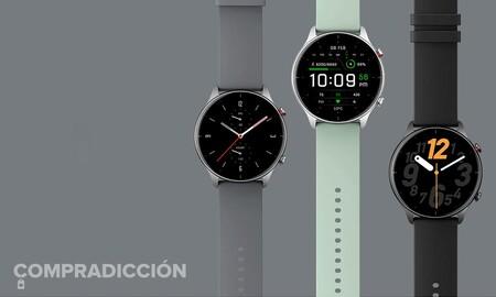 El elegante smartwatch Amazfit GTR 2e es un chollo en Amazon: lo tienes a 99 euros, más barato que en otras tiendas