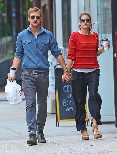 Sí que os ha costado, Ryan Gosling y Eva Mendes