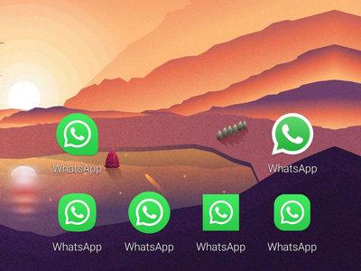 WhatsApp Beta añade icono adaptativo, tarde, pero antes que toda su competencia