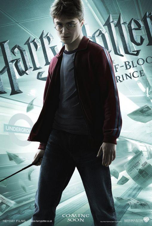 Foto de 'Harry Potter y el misterio del príncipe', nuevos carteles de los protagonistas (1/6)