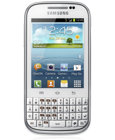 Samsung Galaxy Chat llega a España primero