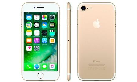 El iPhone 7 de 32 GB en color dorado, esta semana en PcComponentes baja a 549 euros