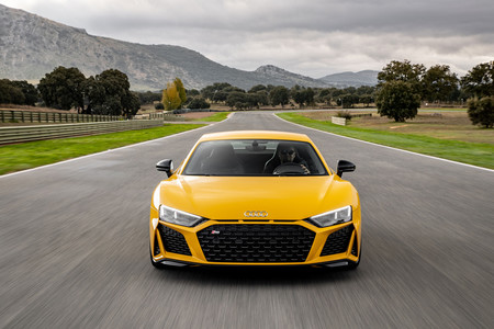 Audi R8 2019 prueba contacto