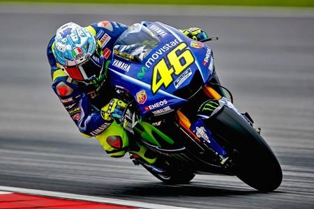 Valentino Rossi Yamaha Test Sepang 2017