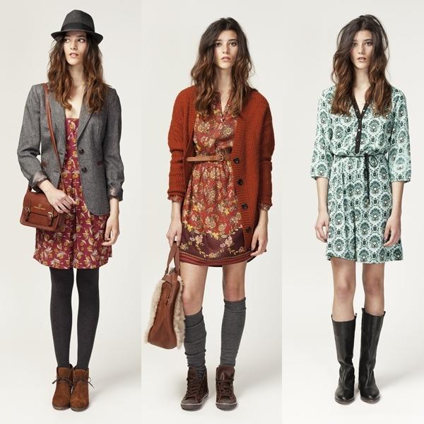 vestidos springfield otoño invienro 2012 2013