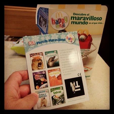 McDonalds en España ofrece libros en vez de juguetes en sus Happy Meal