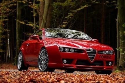 El Alfa Brera según Novitec