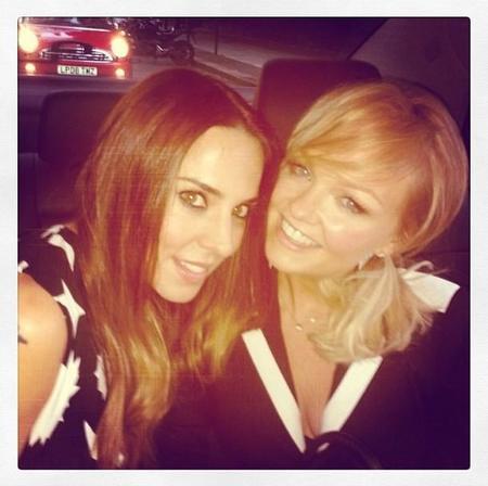 Menudo pedal se pilló Melanie C en el cumpleaños de Vicky Beckham