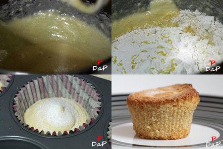 Hacer magdalenas de mantequilla