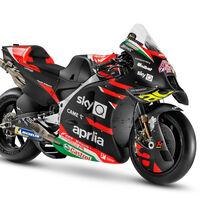 ¡Preciosa! Aprilia presenta su nueva bestia para MotoGP y confirma a Lorenzo Savadori como piloto titular