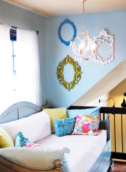Una buena idea: Aprovecha los marcos para decorar