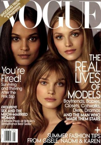 Vogue US escoge a las modelos más representativas de la actualidad