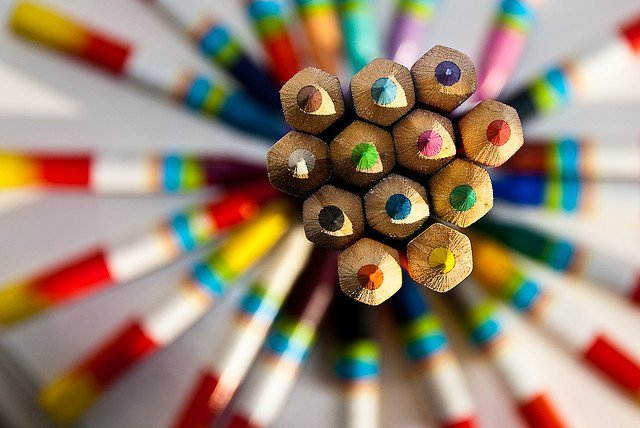 Colour Pencils-1 por David Blaikie