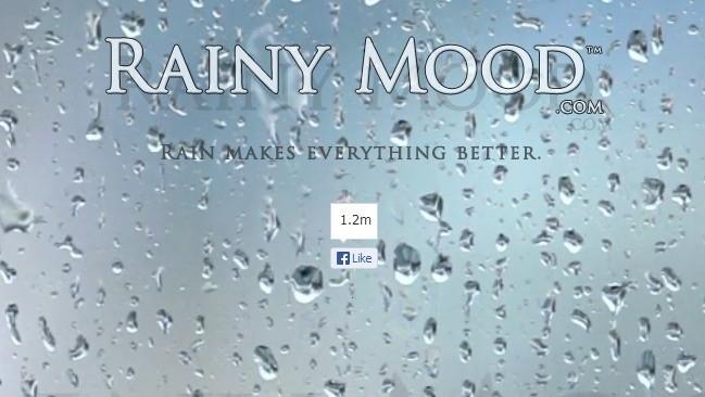 Rainy Mood: para los que les gusta oír la lluvia aunque haga sol