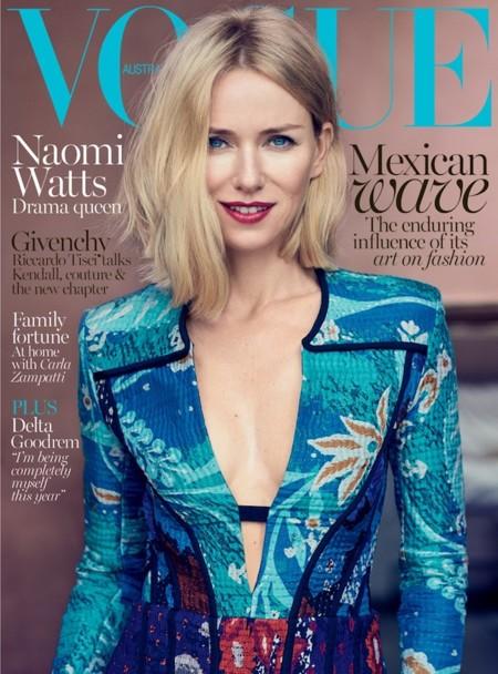 Naomi Watts Vogue Australia October 2015 Cover