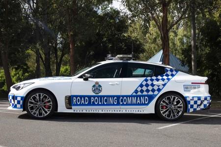 Kia Stinger policía australia