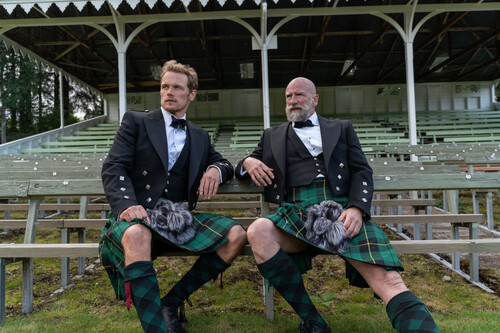 'Men in Kilts': los protagonistas de 'Outlander' recorren Escocia en un ameno documental de viajes en Movistar+