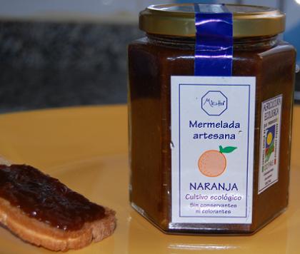 Mermeladas, cremas y miel de cultivo ecológico