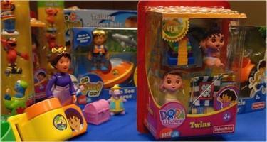 Un gran número de juguetes tienen algún riesgo para los niños