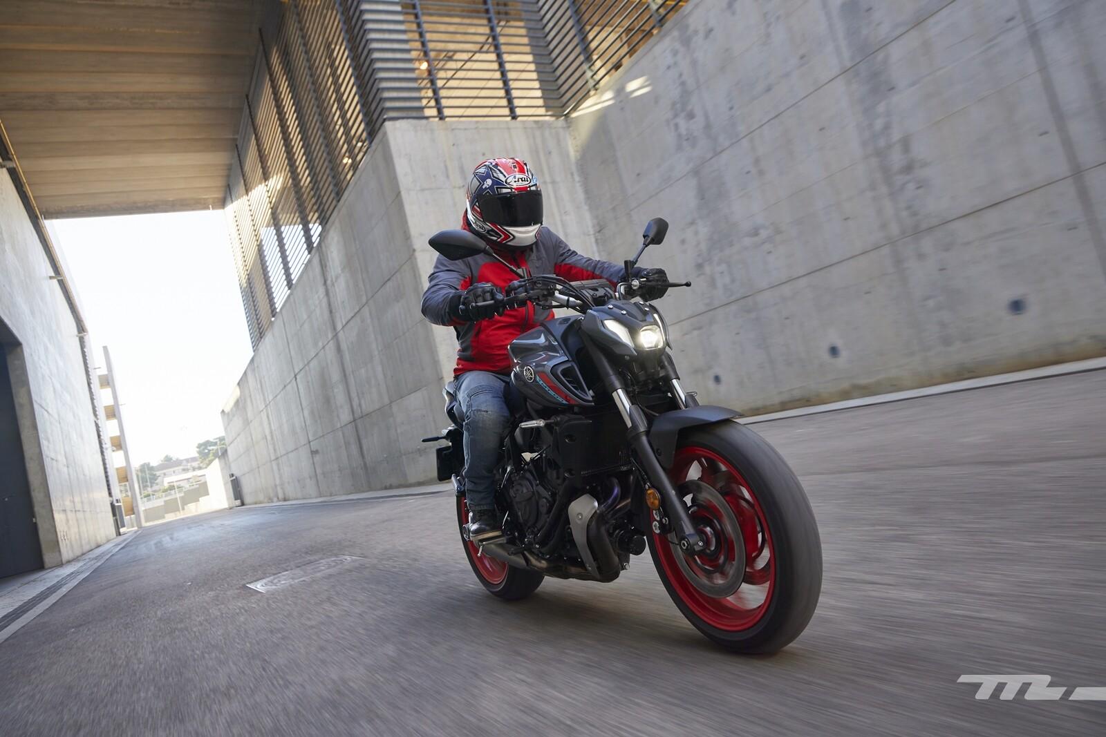 Foto de Yamaha MT-07 2021, prueba (35/75)
