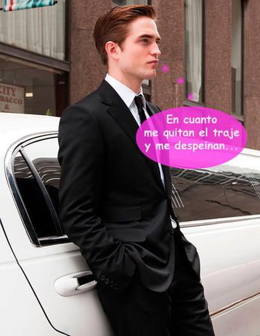 Para Robert Pattinson, mirarse en el espejo es pasar por el tunel del terror