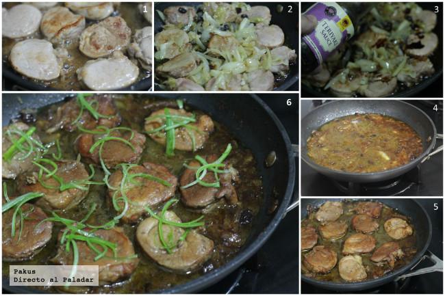 Tacos de solomillo de cerdo con alcachofas y salsa de - Recetas prixton ...