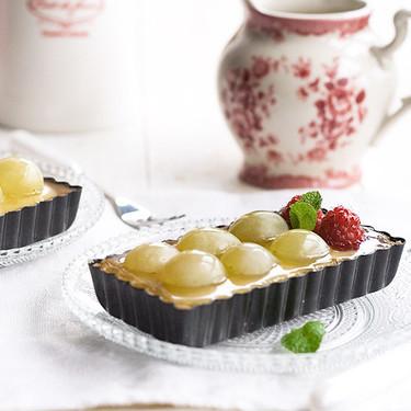 Tartaletas de uvas y crema, receta para aprovechar las frutas antes de que se estropeen