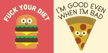 La sinceridad gastronómica de David Olenick hecha en divertidas ilustraciones