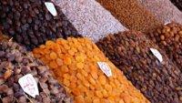 Fruta desecada: una buena fuente de potasio en otoño