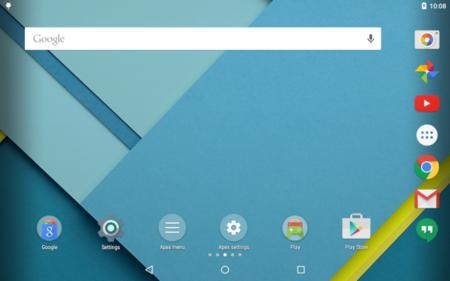 Apex Launcher agrega aspecto de Material Design en su versión 3.0