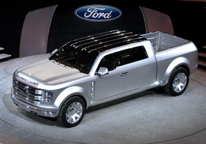 Ford F-250 Super Chief en el salón de Detroit