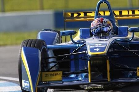 Sebastien Buemi comienza las segundas pruebas de la Fórmula E como el más rápido