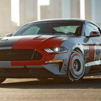 El Ford Mustang de Ryan Blaney calienta motores para el SEMA Show 2019