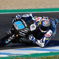Jorge Martín y Sam Lowes los más rápidos del segundo día de test en Jerez