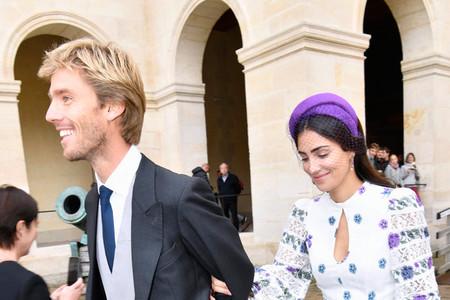 El perfecto look de invitada de boda de Sassa de Osma con un vestido boho