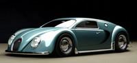 Así luciría el Bugatti Veyron en 1945