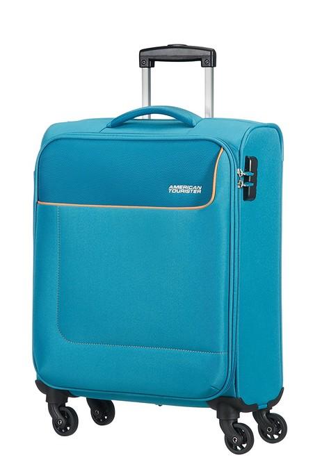 Maleta American Tourister, válida como equipaje de mano, por sólo 56,99 euros y envío gratis