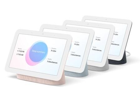 El nuevo Google Nest Hub de segunda generación integra sensores Soli para la monitorización del sueño