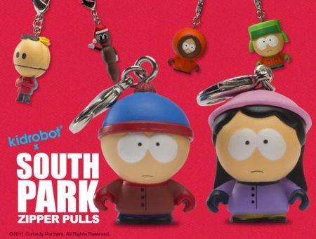 Llaveros de Kidrobot inspirados en South Park