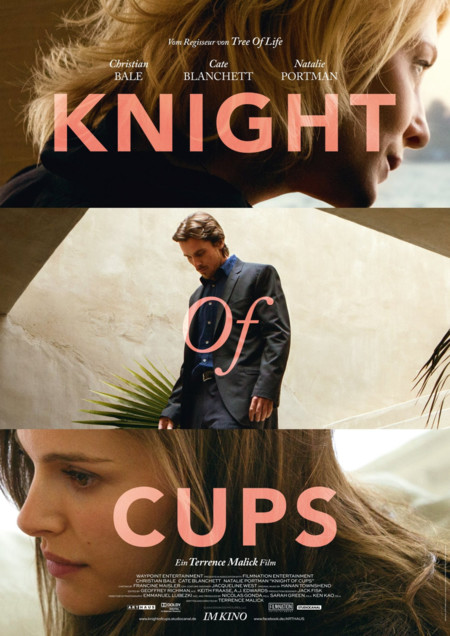 Cartel final de Knight Of Cups
