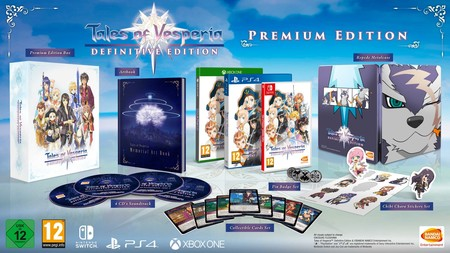 Tales Of Vesperia Definitive Edition Edicion Coleccionista