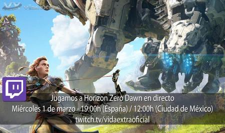 Jugamos en directo a Horizon Zero Dawn a las 19h (las 12h en Ciudad de México)