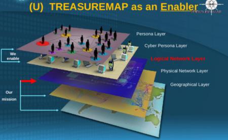 """El """"Treasure Map"""" de la NSA: un mapa con todos los dispositivos conectados a Internet"""
